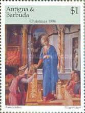 [Christmas - Paintings by Fra Filippo Lippi, 1406-1469, type BNS]