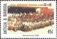 [The 100th Anniversary of the Thomas Oliver Robinson Memorial School, type BYG]