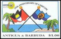 [The 25th Anniversary of the CARICOM - Caribbean Community and Common Market, type CAI]