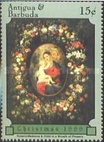 [Christmas - Paintings by Rubens, type CKY]