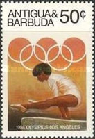 [Olympic Games -  Los Angeles, USA, type DB]