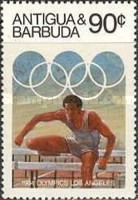 [Olympic Games -  Los Angeles, USA, type DC]