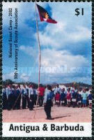 [The 90th Anniversary of Antigua and Barbuda Scouts Association, type DTS]