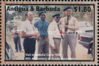 [The 90th Anniversary of Antigua and Barbuda Scouts Association, type DTU]