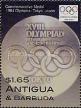 [Olympic Games - Athens, Greece; Olympic Poster and Label, 1964 - Tokyo, Japan, type DZO]