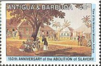 [The 150th Anniversary of the Abolition of Slavery, type EB]