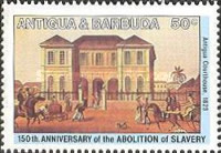 [The 150th Anniversary of the Abolition of Slavery, type EC]