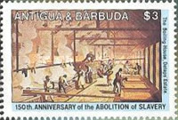 [The 150th Anniversary of the Abolition of Slavery, type EE]