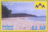 [National Parks of Antigua and Barbuda, type EHX]