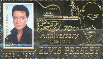[The 70th Annniversary of the Birth of Elvis Presley, 1935-1977, type EII]