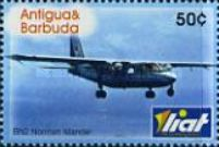 [The 50th Anniversary of Leeward Island Air Transportation - LIAT, type EJZ]