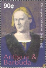[The 500th Anniversary of the Death of Christopher Columbus, 1451-1506, type EML]