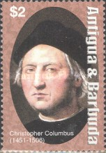 [The 500th Anniversary of the Death of Christopher Columbus, 1451-1506, type EMM]