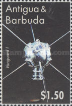 [The 50th Anniversary of Space Exploration and Satellites, type ERY]