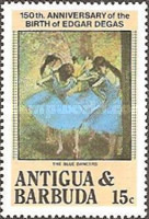 [The 150th Anniversary of the Birth of Edgar Degas, Painter, 1834-1917, type EU]