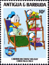 [Disney - Christmas - The 50th Anniversary of the Birth of Donald Duck, type FN]