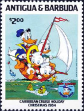 [Disney - Christmas - The 50th Anniversary of the Birth of Donald Duck, type FP]