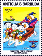 [Disney - Christmas - The 50th Anniversary of the Birth of Donald Duck, type FQ]