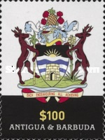[Flag and Coat of Arms of Antigua & Barbuda, type FSX]