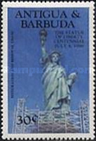 [The 100th Anniversary of the Statue of Liberty, New York, type FU]