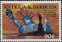 [The 100th Anniversary of the Statue of Liberty, New York, type FW]