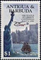 [The 100th Anniversary of the Statue of Liberty, New York, type FX]