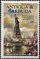 [The 100th Anniversary of the Statue of Liberty, New York, type FY]