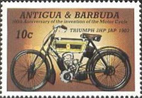 [The 100th Anniversary of the Motorcycle, type GF]
