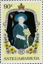 [The 85th Anniversary of the Birth of Queen Elizabeth the Queen Mother, 1900-2002, type HG]
