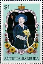 [The 85th Anniversary of the Birth of Queen Elizabeth the Queen Mother, 1900-2002, type HG1]