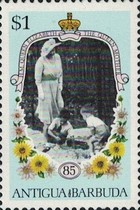 [The 85th Anniversary of the Birth of Queen Elizabeth the Queen Mother, 1900-2002, type HH]