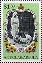 [The 85th Anniversary of the Birth of Queen Elizabeth the Queen Mother, 1900-2002, type HH1]