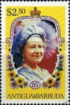 [The 85th Anniversary of the Birth of Queen Elizabeth the Queen Mother, 1900-2002, type HK]