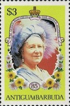 [The 85th Anniversary of the Birth of Queen Elizabeth the Queen Mother, 1900-2002, type HK1]