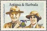 [The 75th Anniversary of the Girl Guide Movement, type HU]
