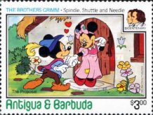 [Disney - The 200th Anniversary of the Birth of Grimm Brothers, type IQ]