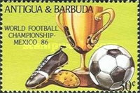 [Football World Cup - Mexico 1986, type JG]