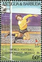 [Football World Cup - Mexico 1986, type JH]