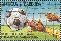[Football World Cup - Mexico 1986, type JJ]
