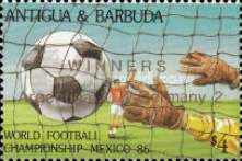 [Football World Cup - Mexico 1986 - Overprinted, type JJ1]