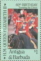 [The 60th Anniversary of the Birth of Queen Elizabeth II, type JR]