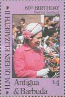 [The 60th Anniversary of the Birth of Queen Elizabeth II, type JS]