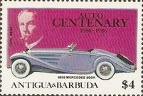 [The 100th Anniversary of the First Benz Motor Car, type LJ]