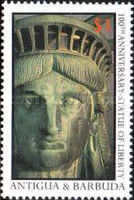 [The 100th Anniversary of the Statue of Liberty, type NQ]