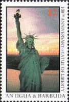 [The 100th Anniversary of the Statue of Liberty, type NR]
