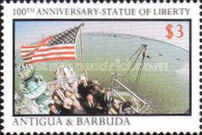 [The 100th Anniversary of the Statue of Liberty, type NS]