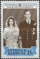 [The 40th Wedding Anniversary of HM Queen Elizabeth II, type OW]