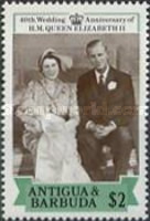 [The 40th Wedding Anniversary of HM Queen Elizabeth II, type OY]