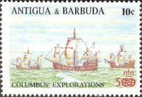 [The 500th Anniversary of the Discovery of America, type PU]