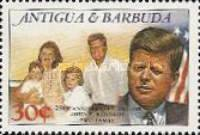 [The 25th Anniversary of the Death of John F. Kennedy, 1917-1963, type SU]
